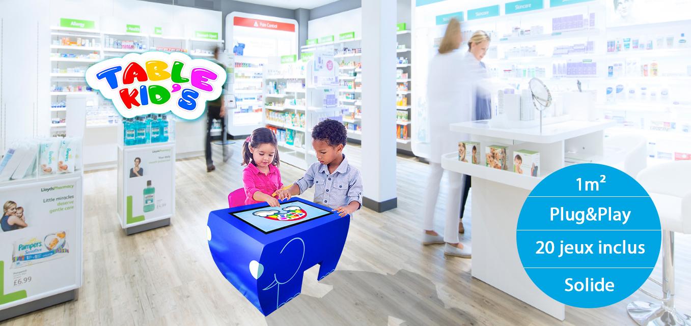 Une Table Tactile Android conçue pour les enfants